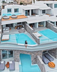 The Ideal Private escape with beautiful Terrasse Views over the Mediterranean Sea in 🇬🇷 💦 poolsandviews summerdestinations tourquoisewaters greekislands mykonos designhotels 📸 Mykonos Hotels, Mykonos Greece, Santorini, Hotels And Resorts, Best Hotels, Ayana Resort Bali, Cavo Tagoo Mykonos, Ferrari World, Beautiful Hotels