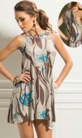 12 fotos de vestidos curtos estampados lindos | Moda i Decor