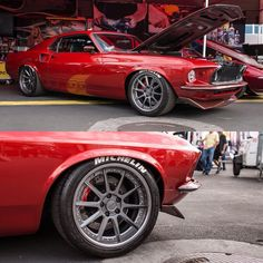"forgeline: ""Did you catch @bdefazz's incredible '69 Mustang Fastback in the @meguiarsusa booth, at the 2016 @semashow? It's powered by 427ci small block Cleveland V8 with @fastofficial EFI and rides on a @mikemaierinc suspension, @jrishocks..."