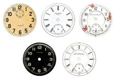 Vintage Label Clock Faces