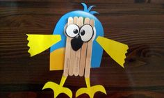 Popsicle Sticks Crafts for Kids - funny #cheap #recycled #toys