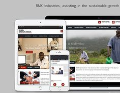 """Check out new work on my @Behance portfolio: """"RMK Industries"""" http://be.net/gallery/37852511/RMK-Industries"""