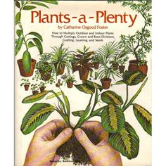 Amazon.com: Plants-a-Plenty: How to Multiply Outdoor and Indoor Plants Through Cuttings, Crown and Root Divisions, Grafting, Layering, and Seeds (9780878571567): Catharine Osgood Foster: Books