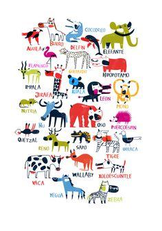 Animalario by Diego Marmolejo, via Behance