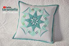 Tarantella - Patchwork Tutorial LizaDecor.com - Skládaný patchwork #patchwork #quilt #lizadecor #tutorial #pattern #vzory #šablony #tarantella #video #quilting
