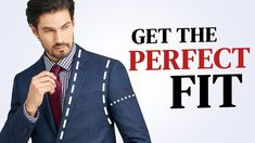 How To Tailor Your Suit Jacket Or Blazer At Home Men's Suits, The Man, Gentleman, Perfect Fit, Ted, Personal Style, How To Look Better, Suit Jacket, Diy Projects