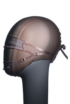 Flesh Lingerie by Guido Palau for Alexander McQueen Fashion Mask, Latex Fashion, Head Mask, British Style, Alexander Mcqueen, Helmet, Hats, Fashion Design, Headpieces