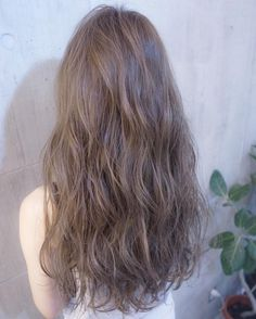 Wavy Light Brown Hair