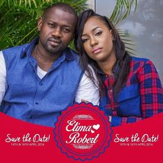 With the consent of their parents Miss Ettima Inwang & Mr. Edidiong Robert cordially invite the general public to witness their exchange of an endless marital Vow.  Date: Thursday 14th April 2016 Venue : Ikot Ebo Ikono Uyo LGA.  Time: 9am prompt.  Wedding  Saturday 16th April 2016 at the Anglican Communion Church of Nigeria Brook Street Uyo.  #EttiWedsEdy