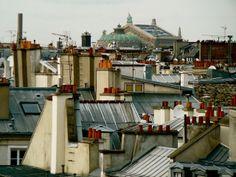 Au dessus des toits de Paris Metro Paris, Paris Rooftops, Georges Pompidou, Grand Paris, Watercolor Architecture, Parisian Apartment, Le Palais, World Cities, Paris Photos