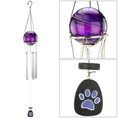 Purple+Paw+Swirl+Wind+Chime+at+The+Animal+Rescue+Site
