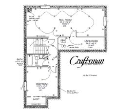 basement floor plans examples finished for