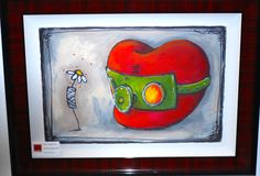 """Fabio Napoleoni- """" Better Days Ahead """" - Limited Edition AP 30.5 by 23.5""""- Paper Giclee Print."""