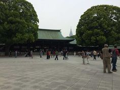 The Meiji Shrine is an essential stop for anyone visiting Japan. The accessibility is a bit of a mixed bag: great ramps and toilet, but a long gravel path. Meiji Shrine, Gravel Path, Visit Japan, Paths, Tokyo, Street View, Gravel Pathway, Tokyo Japan