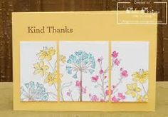stampin up simply soft - IDEA: stamp then color, then cut pieces and separate.