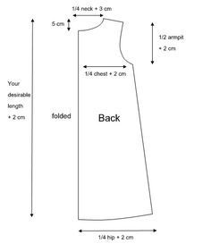 Learn how to draft and sew 2 types of graphic tunic tops in this free sewing pattern post. Written pattern with diagrams. Doll Clothes Patterns, Sewing Clothes, Clothing Patterns, Tunic Dress Patterns, Tunic Pattern, Sewing Patterns Free, Free Sewing, Sew Ins, Tunic Tops