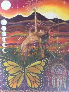 Whatever form it takes, Goddess worship is very empowering for women!  By healing our body/mind/spirit and reclaiming our personal sovereignty, we are the first generation in millennia to recover from the patriarchal damage perpetuated on ourselves and our ancestral motherline. -  Art by Isabel Bryna