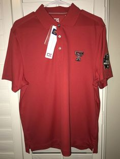 d1680b881 Details about The Victory Texas Tech Red Raiders Mens Size XL College World  Series Omaha Shirt