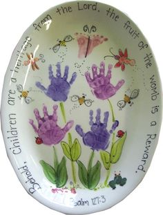 DIY idea for a great gift.  Mothers and Grandmothers will love this!  Can also m