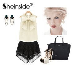 """SHEINSIDE I / 5"" by nura-mehmedovic ❤ liked on Polyvore featuring Kate Spade and GINTA"