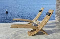 Chaise-longue pliante Nozib, Skargaarden