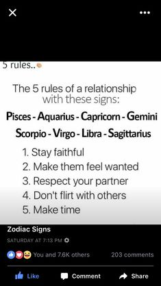 So true and very important to us #pisces