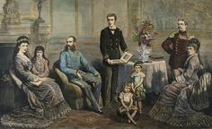 Franz Joseph of Austria family portrait.jpg