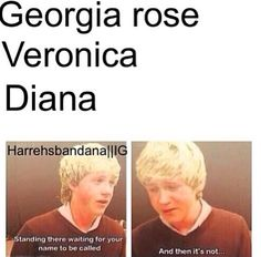 But my name is Georgia Rose!!!