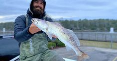 Jud Brock with a nice trout! Best Fishing, Fishing Tips, Creature Of Habit, Fishing Report, Fishing Videos, Red Fish, Saltwater Fishing, Going Home, Pictures Of You