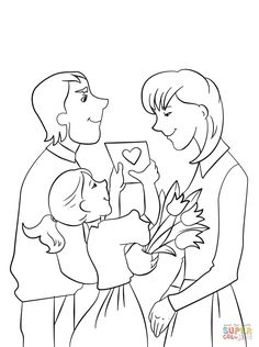 Mother Coloring Pages Let S Celebrate Day