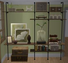 Awesims shelving unit converted for TS2.