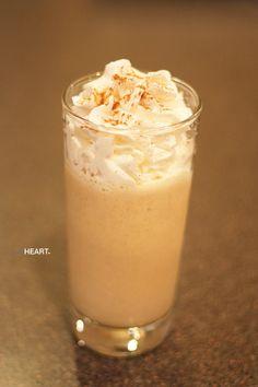 withHEART - Pumpkin pie shake recipe.