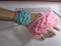 Tina's handicraft : crochet stitch for bracelet