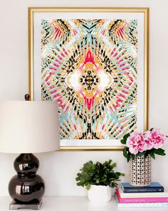 Stylized Geometry: 10 Home Decor Ideas You Need to See via Brit + Co.