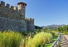 Castello Di Amarosa - A walk on the grounds of Castello di Amarosa in Napa, California and one feels they've been transported back to another time and place.