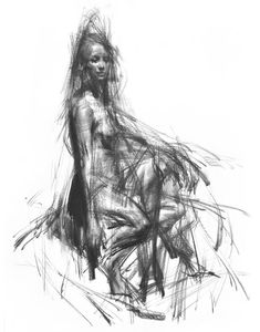 "Saatchi Art Artist Zin Lim; Drawing, ""ALLEGRO. SPICCATO. no 63"" #art"