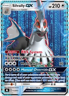 Silvally GX by Waterbeacon