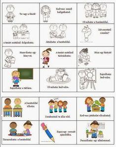 Játékos tanulás és kreativitás: Magatartás, szorgalom értékelése 5. Teaching Kids, Kids Learning, Class Dojo, Conflict Resolution, Classroom Organization, Pre School, Preschool Activities, Games For Kids, Elementary Schools