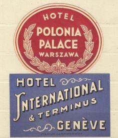 Hotel Polonia Palace, Warsaw and Hotel Geneva