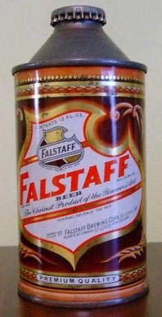 """Vintage Falstaff Beer Sir Falstaff 24"""" Charger Tray Sign ..."""