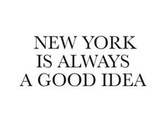New York is always a good idea | Spiritual Gangster