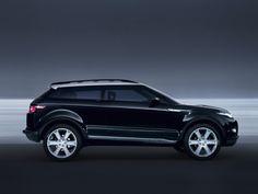 Land Rover LRX Concept Black