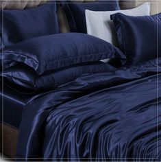 Silk Bedding, Home, House, Homes, Houses