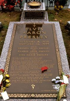 Elvis Aaron Presley  January 8, 1935 - August 16, 1977