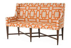 fretwork Alcott Banquette | pearson furnishings