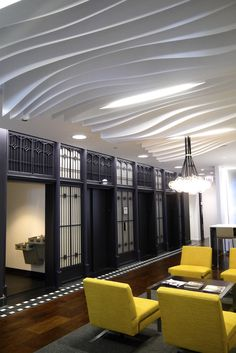 Solutions | Ceiling Systems | Atmosphera Concour 3D by ARKTURA - Chicago, IL