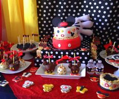 Mickey Mouse Birthday Party Ideas | Photo 20 of 23 | Catch My Party