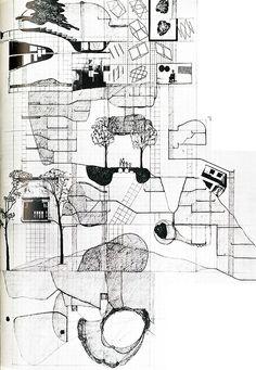 Volker Giencke. Japan Architect 53 Feb 1978: 23 | RNDRD