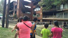 Hondureños se quedan sin casa tras incendio en Maryland Estados Unidos