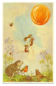 Mice Three on a Spree by Molly Brett